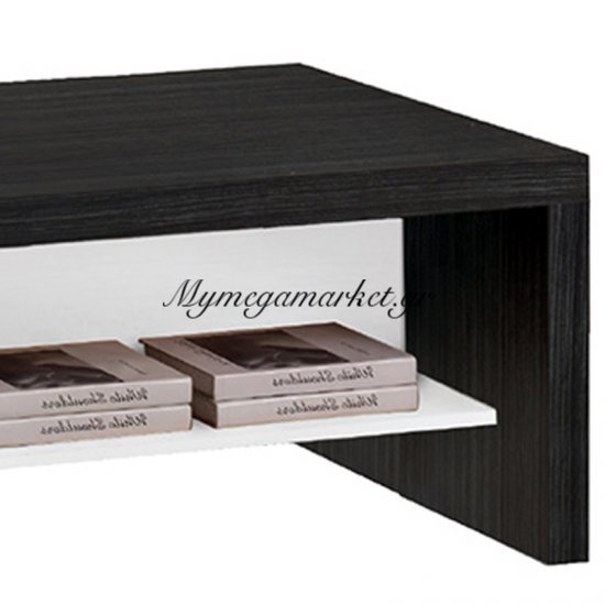 Life Τραπ.σαλονιού 120X60 Απόχρωση Μαύρο Δρυς/λευκό Στην κατηγορία Τραπέζια σαλονιού | Mymegamarket.gr