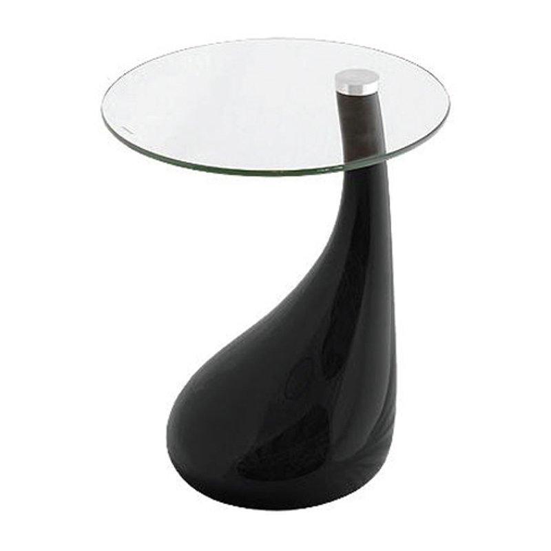 Drink Τραπεζάκι Φ50X54Cm Μαύρο Στην κατηγορία Βοηθητικά τραπεζάκια σαλονιού   Mymegamarket.gr