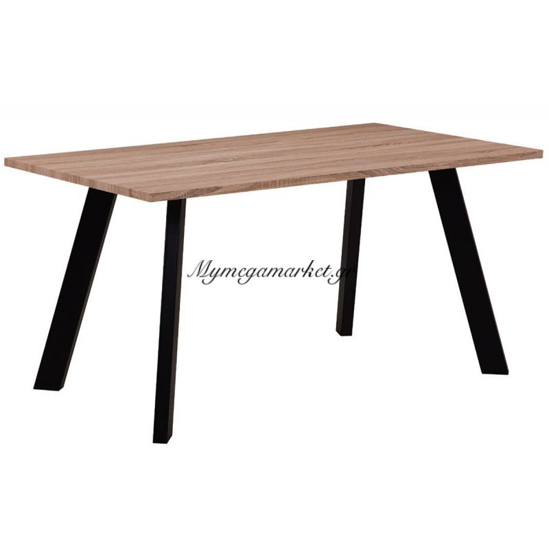 Baxter Τραπέζι 120X70Cm Sonoma/βαφή Μαύρη Στην κατηγορία Τραπέζια - Τραπεζαρίες   Mymegamarket.gr