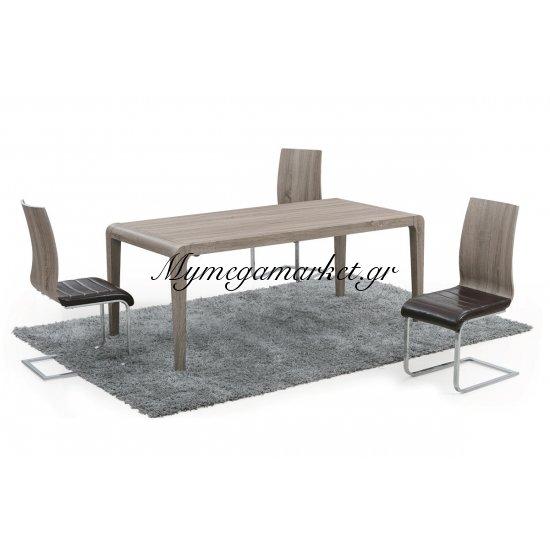Tραπέζι Division απόχρωση σημύδας 200x90x75 Στην κατηγορία Επιφάνειες - Βάσεις τραπεζιού | Mymegamarket.gr