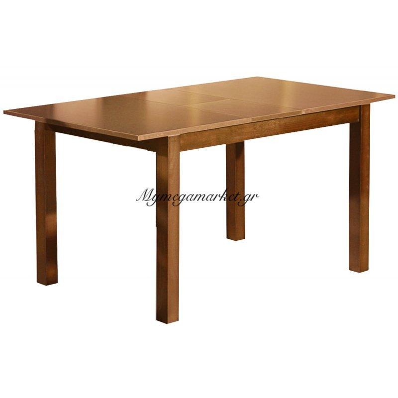 Τραπέζι οξυά Miller επεκτεινόμενο honey oak 120+(30)x80x74