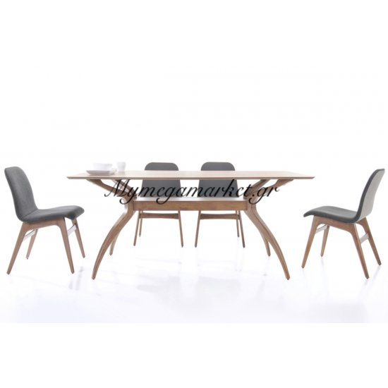 Aroma Τραπέζι 180X95Cm Καρυδί Στην κατηγορία Τραπέζια - Τραπεζαρίες | Mymegamarket.gr