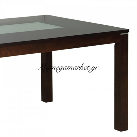 Diamond Τραπ.150X90Cm Σκ.καρυδί Στην κατηγορία Τραπέζια - Τραπεζαρίες | Mymegamarket.gr