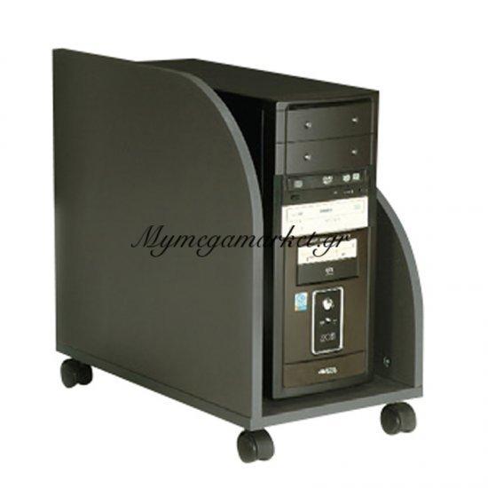 Βάση Η/Υ τροχήλατη μαύρο χρώμα 50x30x52 Στην κατηγορία Επιφάνειες - Βάσεις τραπεζιού | Mymegamarket.gr