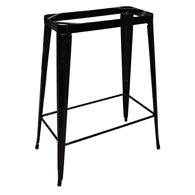 Βάση Stand τραπεζιού Relix steel antique μαύρη