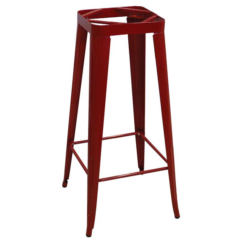 Βάση Stand τραπεζιού Relix steel κόκκινο