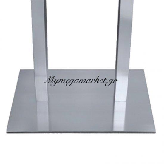 Βάση τραπεζιού inox τετράγωνη Epsilon Στην κατηγορία Επιφάνειες - Βάσεις τραπεζιού | Mymegamarket.gr
