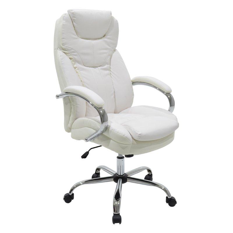 Καρέκλα γραφείου διευθυντή Jack με PU χρώμα ivory-μπεζ