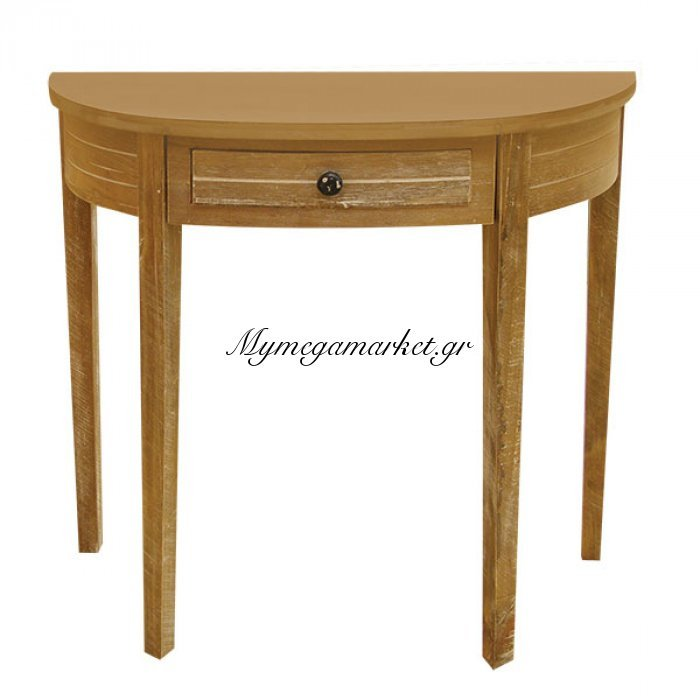 Κονσόλα ξύλινη με 1 συρτάρι 51221   Mymegamarket.gr