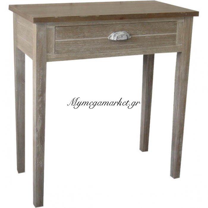 Κονσόλα ξύλινη με 1 συρτάρι 51224 - Vekrakis   Mymegamarket.gr