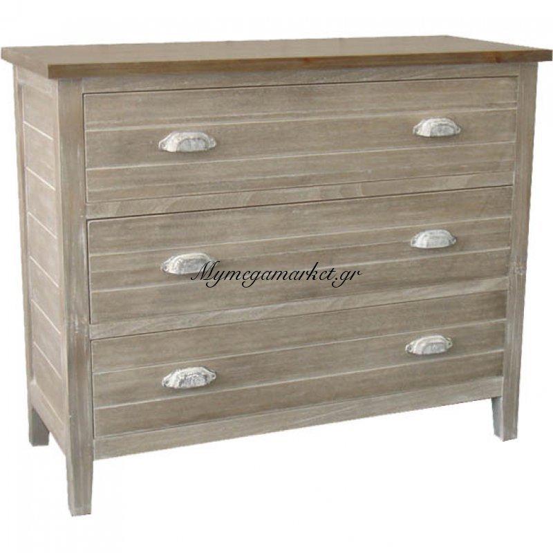 Συρταριέρα ξύλινη 51251 - Vekrakis