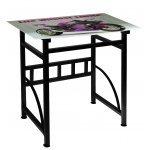 Γραφείο γυάλινο με μεταλλικό σκελετό - Kawasaki - Desk-6-32 - Tns by Mymegamarket.gr