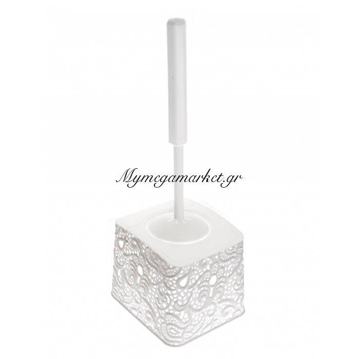 Πιγκάλ μπάνιου - Decor δαντέλα λευκό - Elif | Mymegamarket.gr