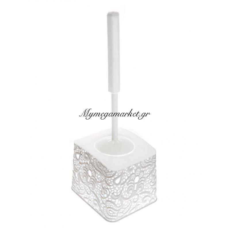 Πιγκάλ μπάνιου - Decor δαντέλα λευκό - Elif