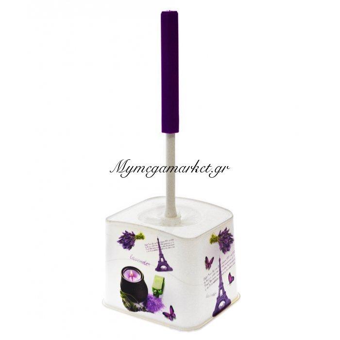 Πιγκάλ μπάνιου πλαστικό - Decor Lavender - Elif | Mymegamarket.gr