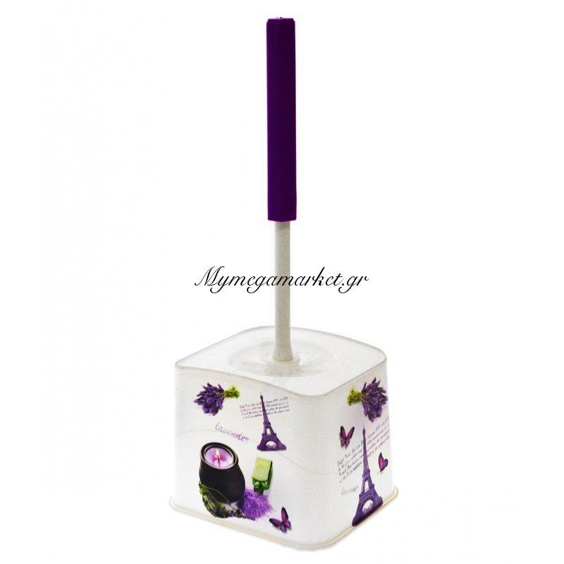 Πιγκάλ μπάνιου πλαστικό - Decor Lavender - Elif