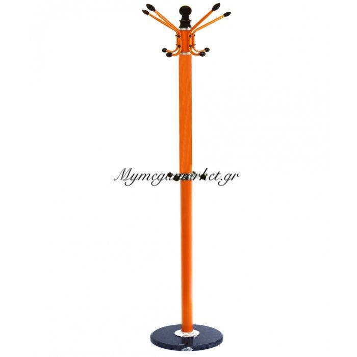 Καλόγερος περιστρεφόμενος πορτοκαλί με βάση γρανίτη | Mymegamarket.gr