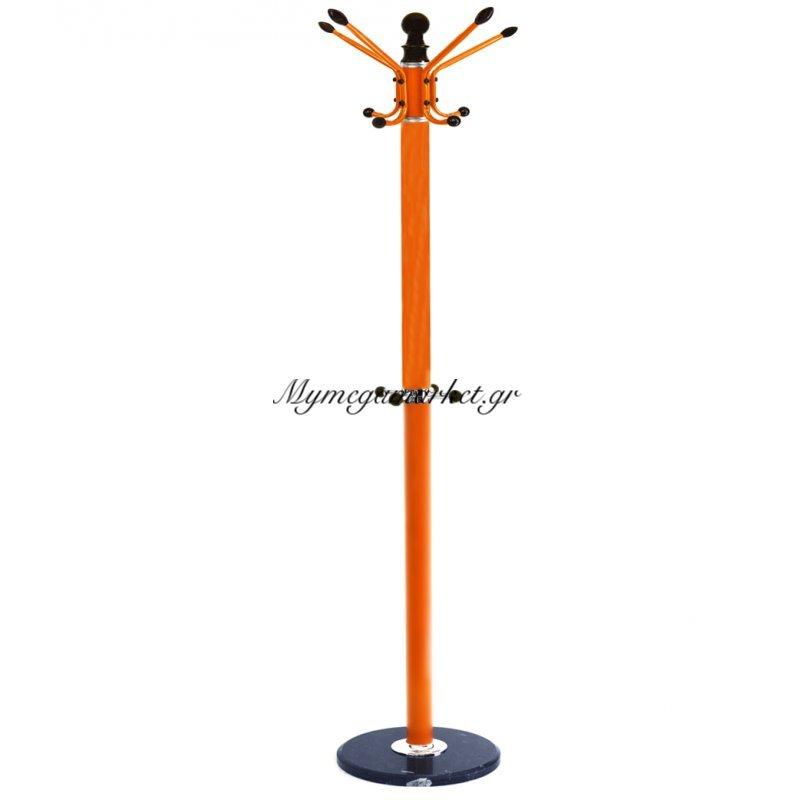 Καλόγερος περιστρεφόμενος πορτοκαλί με βάση γρανίτη Στην κατηγορία Κρεμάστρες | Mymegamarket.gr