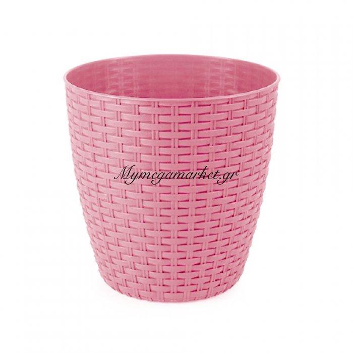 Κασπώ ραττάν φούξια & ρόζ απο πλαστικό   Mymegamarket.gr
