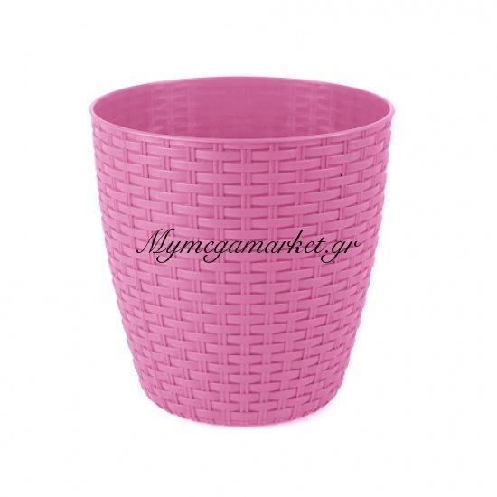 Κασπώ ραττάν φούξια & ρόζ απο πλαστικό Στην κατηγορία Κασπώ - γλαστράκια | Mymegamarket.gr
