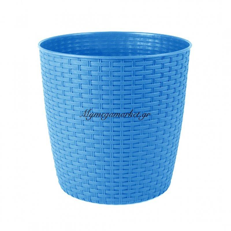 Κασπώ ραττάν σε μπλέ χρώμα απο πλαστικό