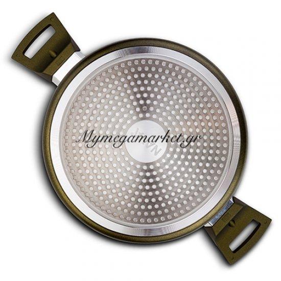 Αντικολλητική κατσαρόλα αλουμινίου με επίστρωση Granite 20 cm - Nava Ideas Στην κατηγορία Κατσαρόλες | Mymegamarket.gr