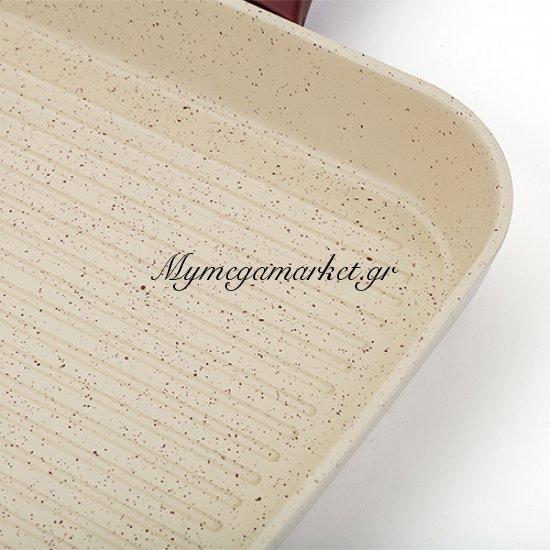 Γκριλιέρα κεραμική οικολογική No 27 - Nava Στην κατηγορία Τηγάνια - Σουρωτήρια | Mymegamarket.gr