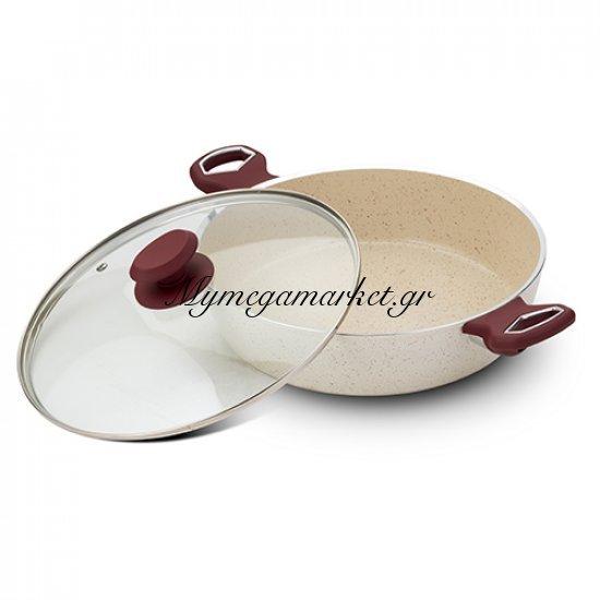 Κεραμική αντικολλητική ημίχυτρα αλουμινίου 28cm - Nava Στην κατηγορία Κατσαρόλες   Mymegamarket.gr