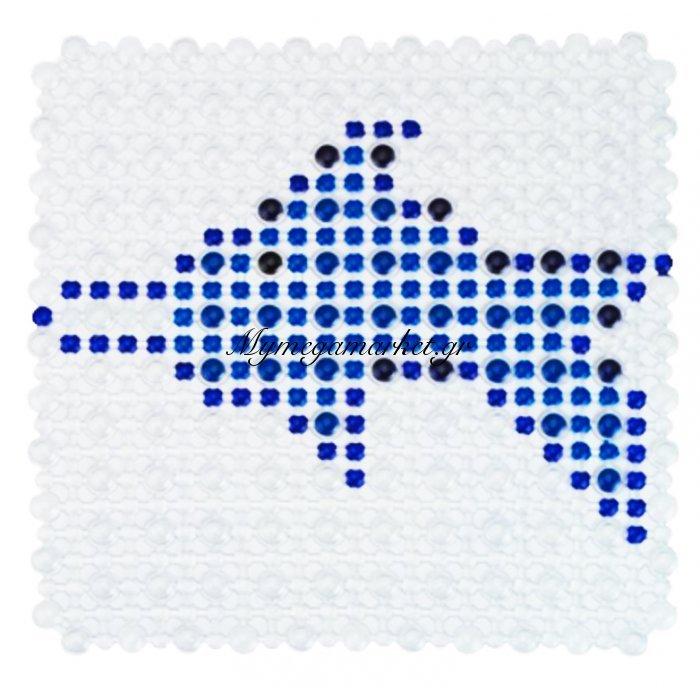 Πατάκι ντουζιέρας κολάζ αντιολισθητικό - Βεντούζα - Σχέδιο ψάρι | Mymegamarket.gr