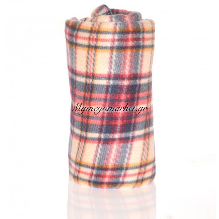 Κουβέρτα φλίς ημίδιπλη 190 x 220 cm - Χρωματιστή | Mymegamarket.gr