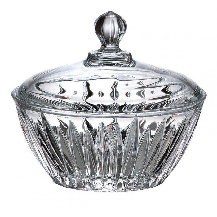 Κούπ κρυστάλλινο Bohemia με καπάκι 17,5cm New Nova - Venus | Mymegamarket.gr