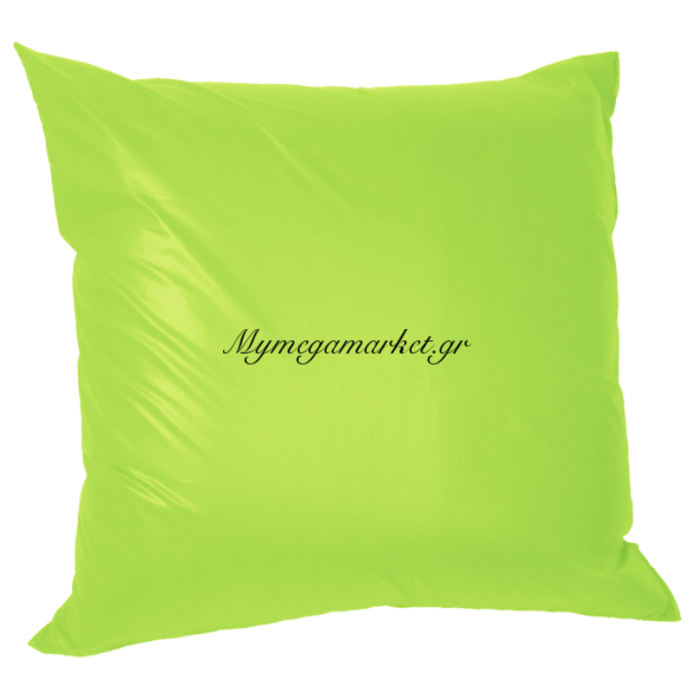 Μαξιλάρι καναπέ πολυεστέρας τζίν σε λαχανί απόχρωση 45 x 45 cm | Mymegamarket.gr