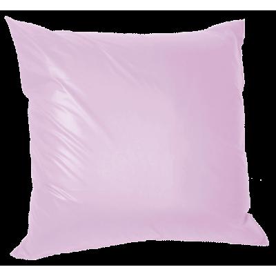 Μαξιλάρι καναπέ πολυεστέρας τζίν σε λιλά απόχρωση 45 x 45 cm | Mymegamarket.gr