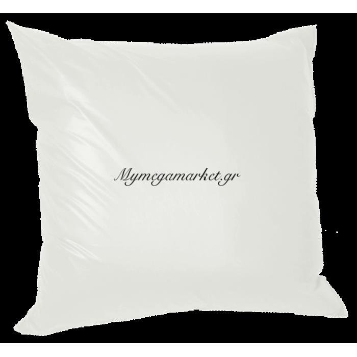Μαξιλάρα δαπέδου πολυεστέρας τζίν σε σαμπανί απόχρωση | Mymegamarket.gr