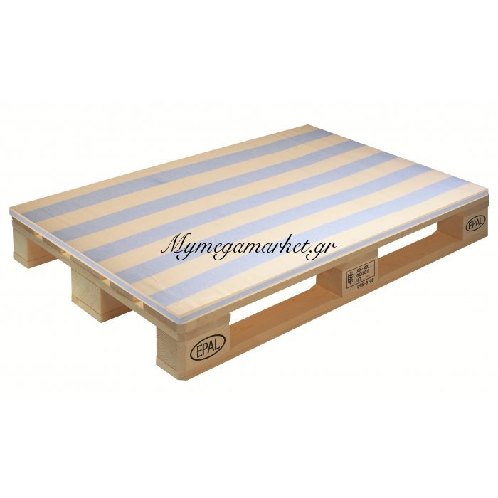 Μαξιλάρι καρώ ύφασμα λονέτα για παλέτα και ευρωπαλέτα 5cm | Mymegamarket.gr