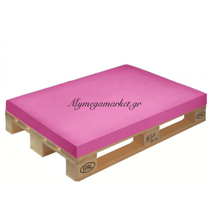 Μαξιλάρι μονόχρωμο φούξια για παλέτα και ευρωπαλέτα 10cm | Mymegamarket.gr