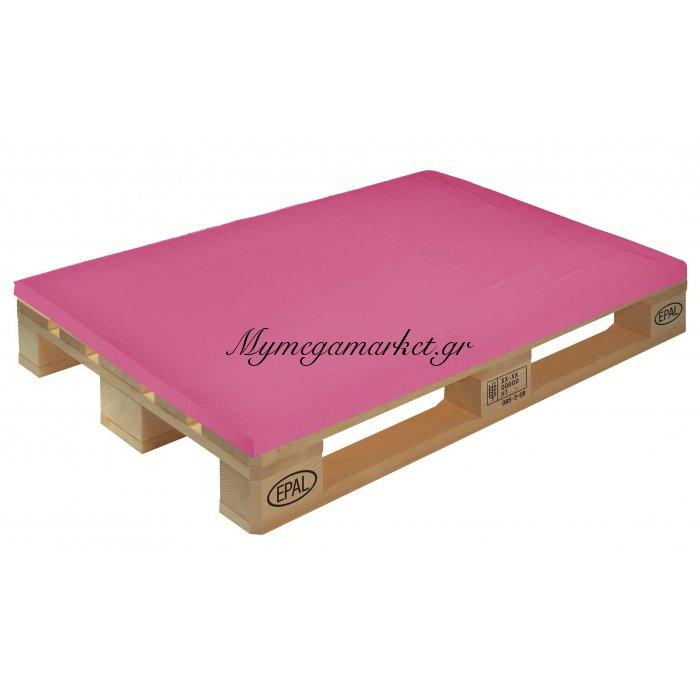 Μαξιλάρι μονόχρωμο φούξια για παλέτα και ευρωπαλέτα 5cm | Mymegamarket.gr