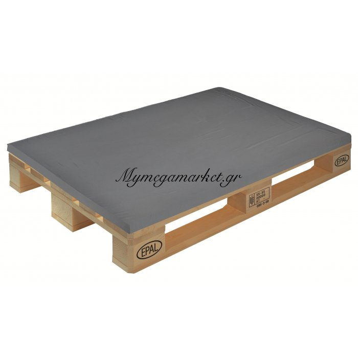 Μαξιλάρι μονόχρωμο γκρί για παλέτα και ευρωπαλέτα 5cm | Mymegamarket.gr