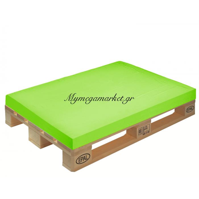 Μαξιλάρι μονόχρωμο λαχανί για παλέτα και ευρωπαλέτα 10cm | Mymegamarket.gr