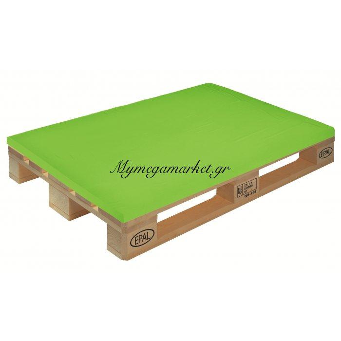 Μαξιλάρι μονόχρωμο λαχανί για παλέτα και ευρωπαλέτα 5cm | Mymegamarket.gr
