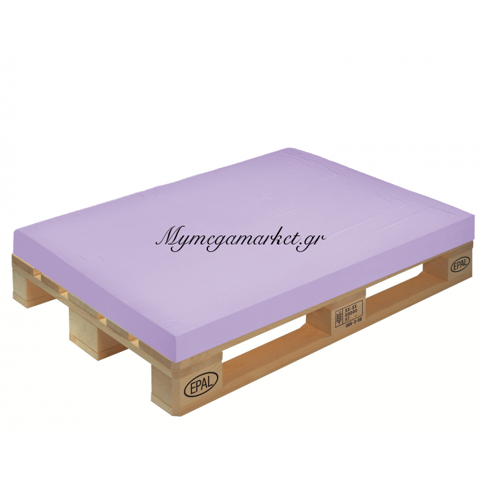 Μαξιλάρι μονόχρωμο λιλά για παλέτα και ευρωπαλέτα 10cm | Mymegamarket.gr