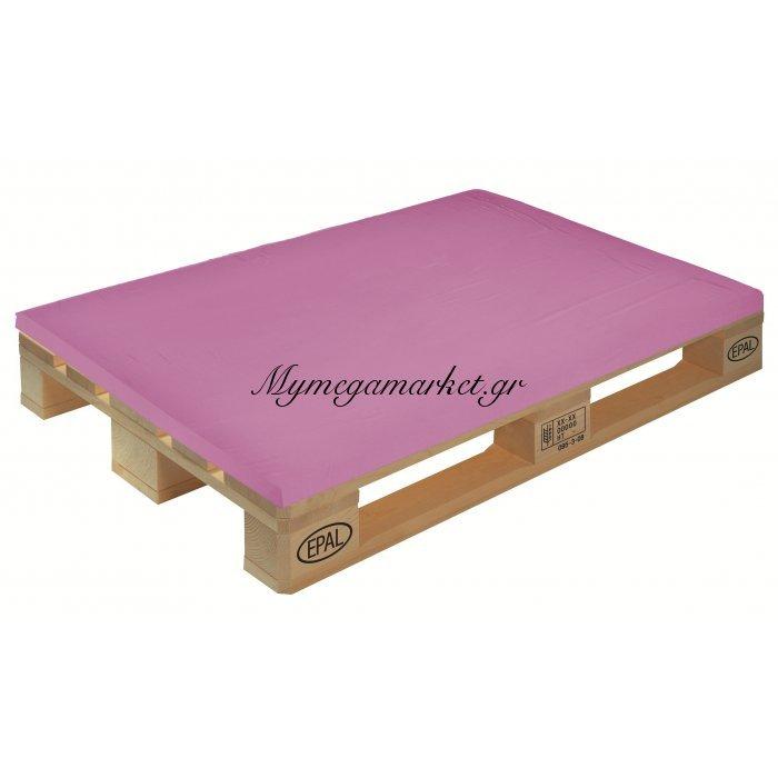 Μαξιλάρι μονόχρωμο λιλά για παλέτα και ευρωπαλέτα 5cm | Mymegamarket.gr