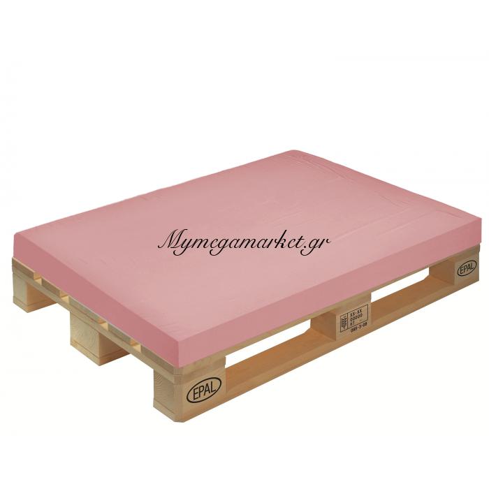 Μαξιλάρι μονόχρωμο ρόζ για παλέτα και ευρωπαλέτα 10cm | Mymegamarket.gr