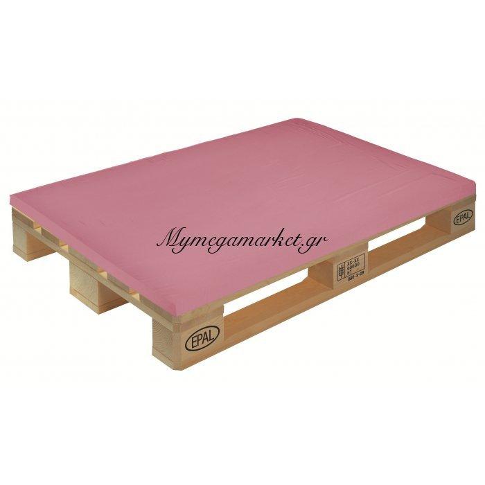 Μαξιλάρι μονόχρωμο ρόζ για παλέτα και ευρωπαλέτα 5cm | Mymegamarket.gr
