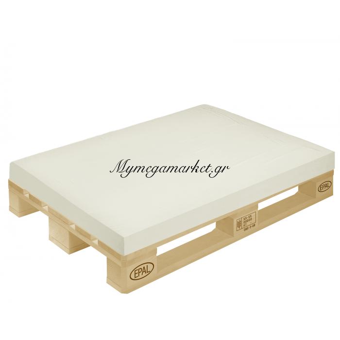 Μαξιλάρι μονόχρωμο σαμπανί για παλέτα και ευρωπαλέτα 10cm | Mymegamarket.gr