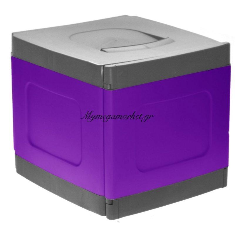 Μπαούλο - Κουτί αποθήκευσης από υψηλής ποιότητας πλαστικό Compact - Μώβ