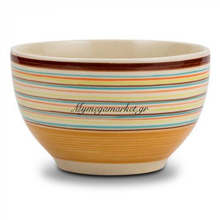 Μπώλ δημητριακών stoneware καφέ Nava 14 cm | Mymegamarket.gr