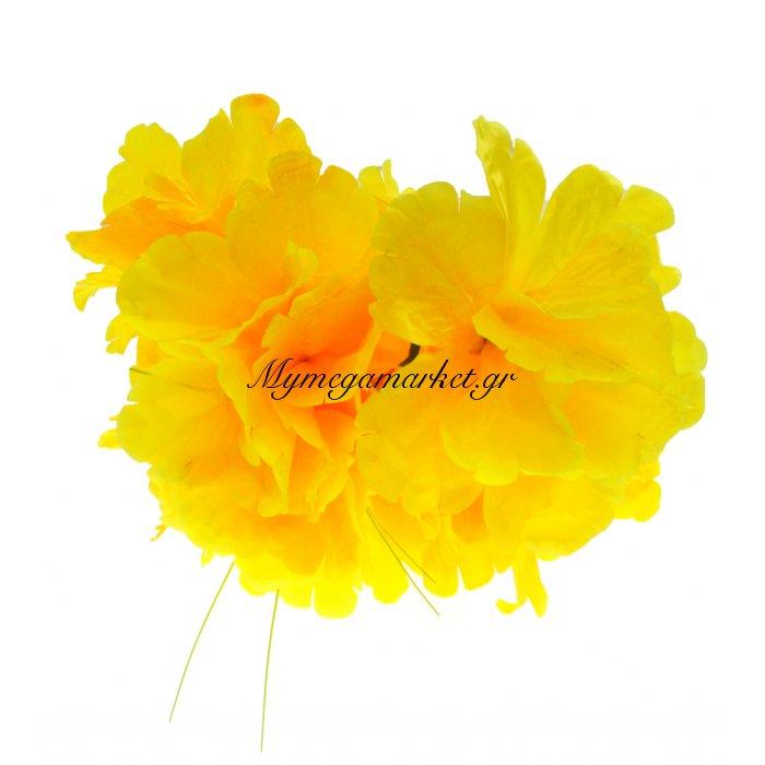 Μπουκέτο λουλούδια κίτρινα 9 τμχ. - 05-950-2514 | Mymegamarket.gr