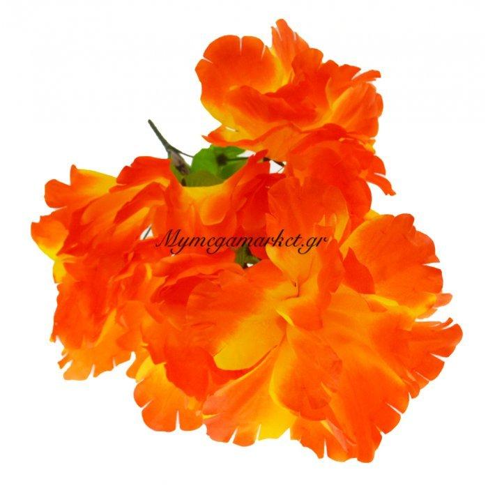 Μπουκέτο λουλούδια πορτοκαλί 9 τμχ. - 05-950-2514 | Mymegamarket.gr