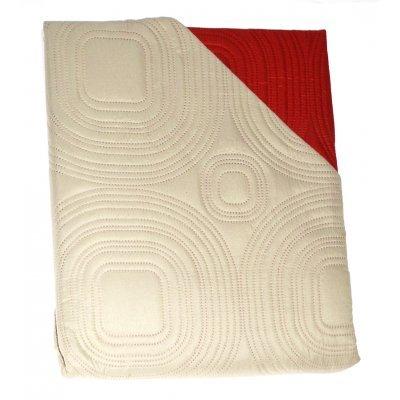 Πάπλωμα Μικροφίμπρα διπλής όψεως διπλό200 x 220 –Μπέζ - Κεραμιδί